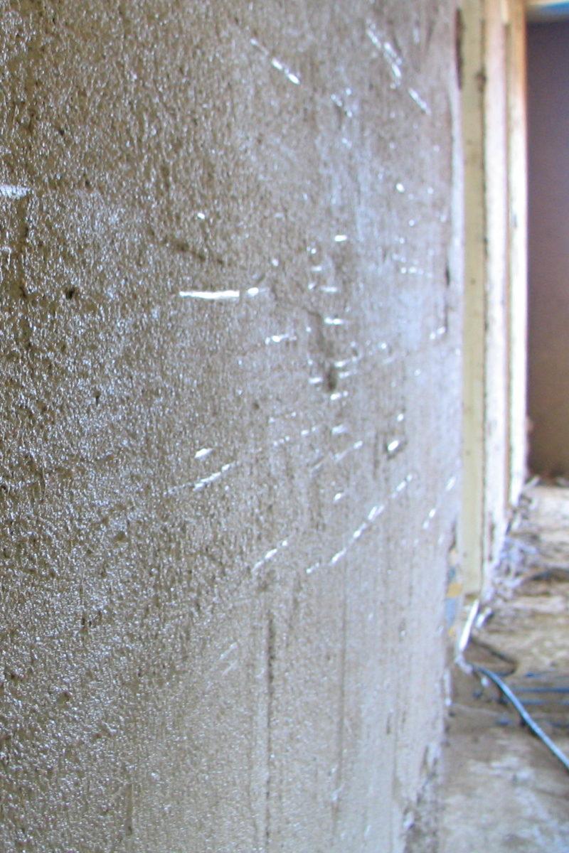 Lehmgrund auf Schilfstukkatur