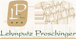 Logo Lehmputz Proschinger