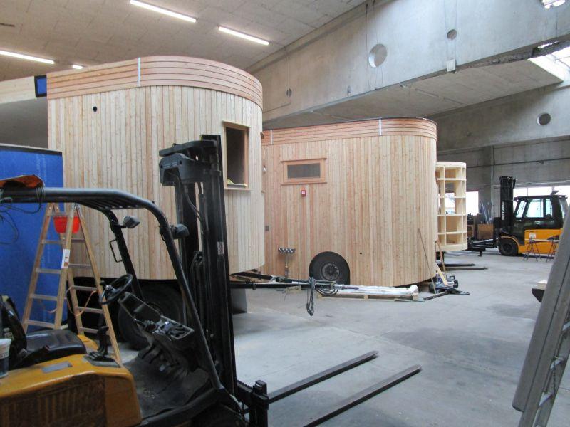 In der Fertigungshalle von Wohnwagon in Gutenstein