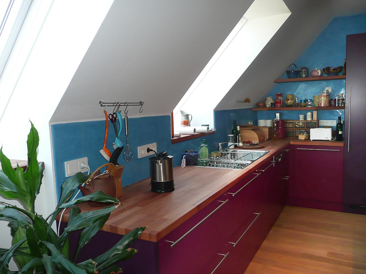 Tadelakt 1030 Küche