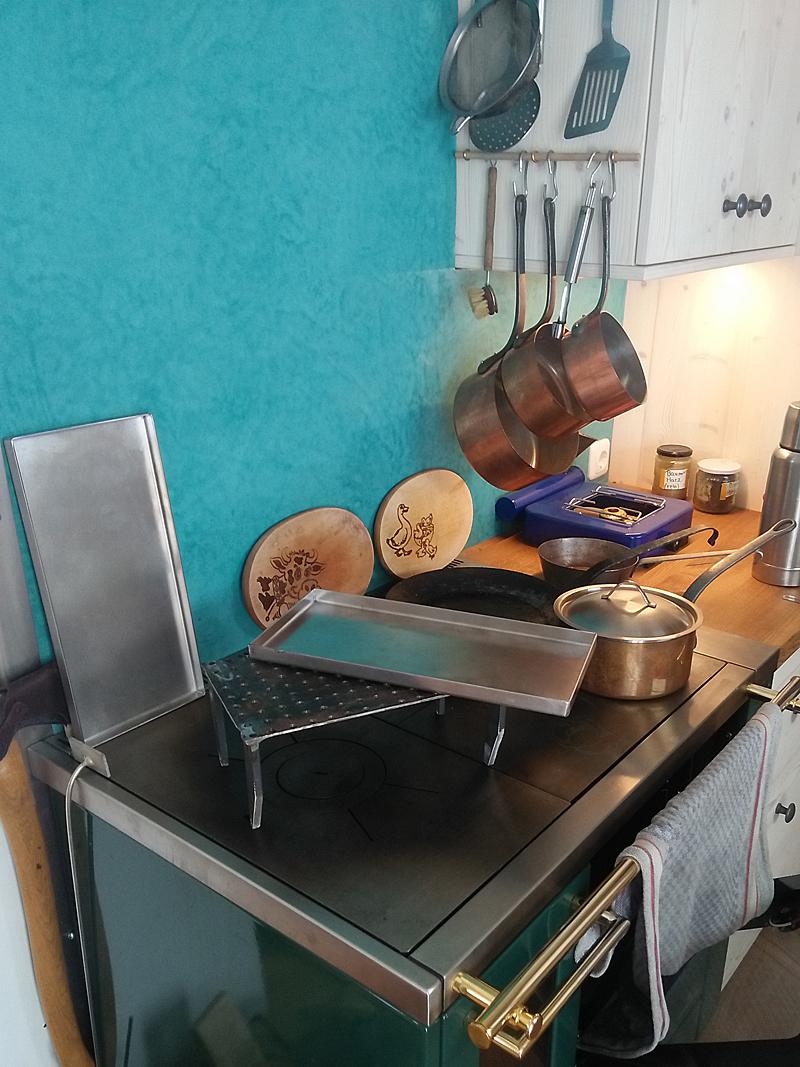 Tadelakt im WohnWagon Küche