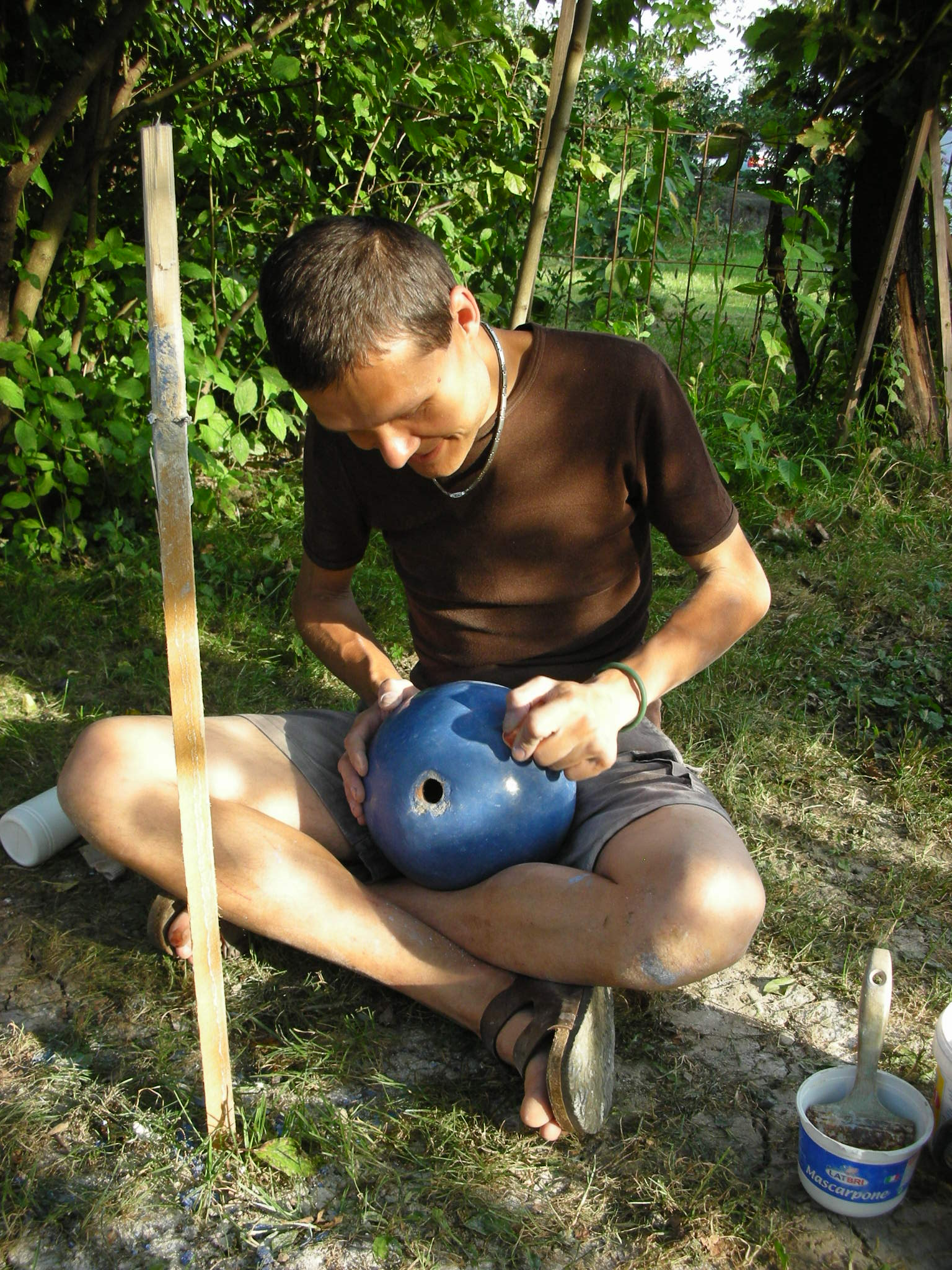 Tadelakt Workshop 2008 Kugel