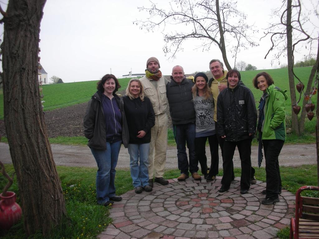Tadelakt Workshop 2012 Gruppe