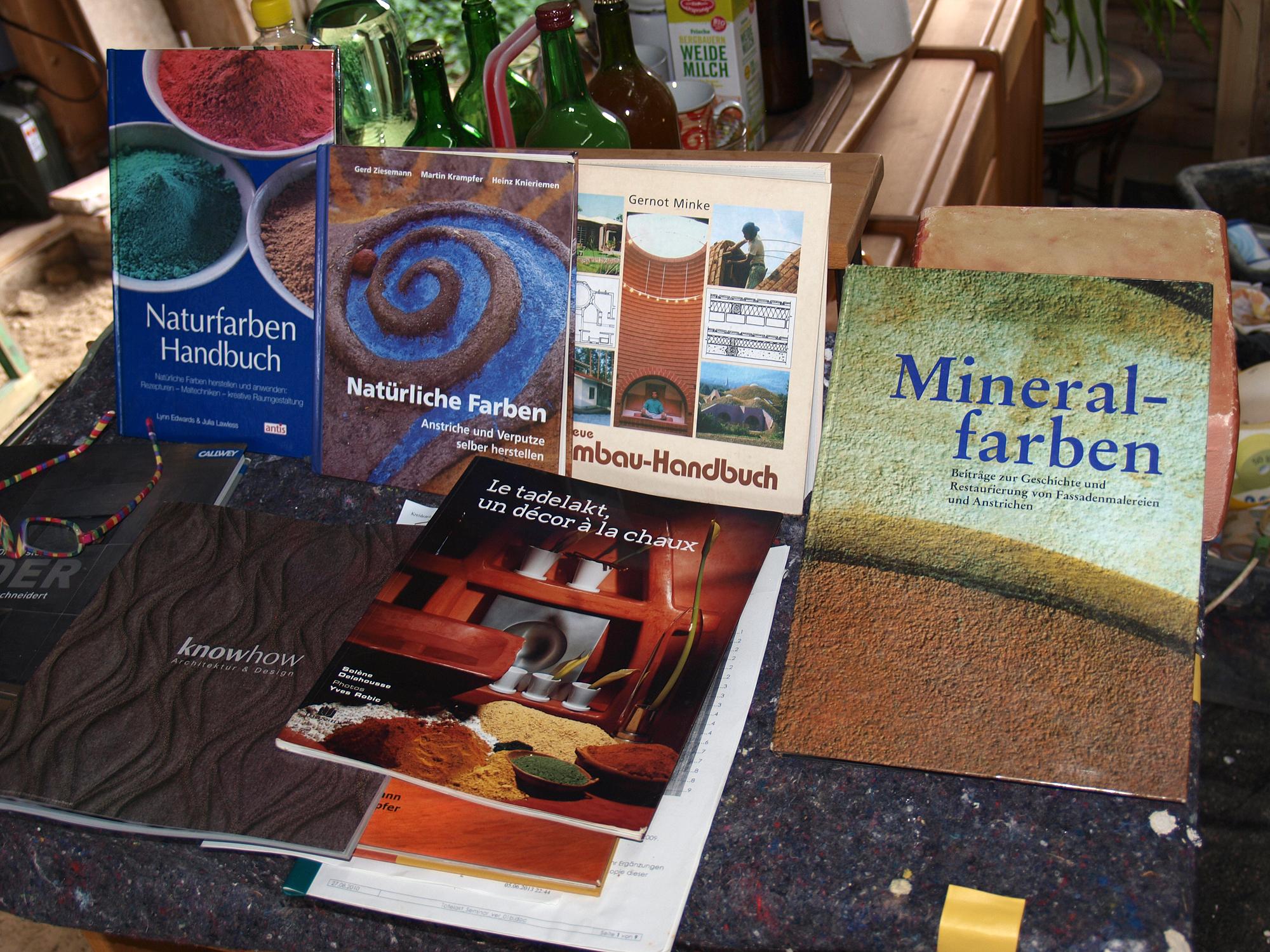 Tadelakt Workshop 2013 Bücher